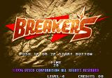 Breakers Neo Geo Title
