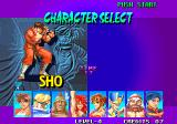 Breakers Neo Geo Character Selection