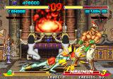 Breakers Neo Geo Alsion headbutts Condor's leg with brute strength