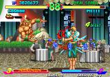 Breakers Neo Geo Pielle is surrounded by a ring of emeralds