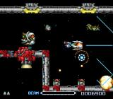 R-Type III: The Third Lightning SNES Stage 1: Space Garbage