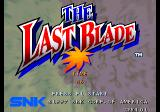The Last Blade Neo Geo Title