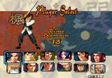 The Last Blade Neo Geo Character Selection