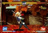 The Last Blade Neo Geo Kaede puts his sword through Lee
