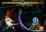 The Last Blade Neo Geo Lee has drawn a lot of blood from Washizuka's swing