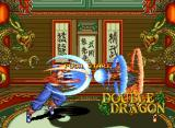 Double Dragon Neo Geo The twin brothers Billy Lee (in the left side) and Jimmy Lee (in the right side) are dueling. It would be a training?
