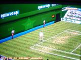 Break Point PlayStation Action replay. The game cannot be played from this angle.