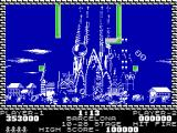 Pang ZX Spectrum Barcelona - smallest balloon disappear when hit