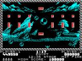 Pang ZX Spectrum Egypt - those nasty balloons killed Pang again