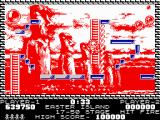 Pang ZX Spectrum Easter Island - hidden behind the power wire