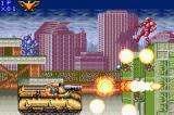Contra Advance: The Alien Wars EX Game Boy Advance A tank is the definitive solution for massive destruction.