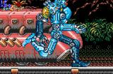 Contra Advance: The Alien Wars EX Game Boy Advance What a hasty robot! I think that it's searching the next victim...