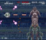 Darius Twin SNES An end of level squid