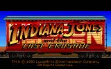 Indiana Jones and the Last Crusade: The Graphic Adventure DOS Title screen