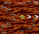 Darius Twin SNES The gold shield is the most powerful one in the game/