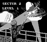 Choplifter II: Rescue Survive Game Boy Begining a level
