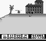 Choplifter II: Rescue Survive Game Boy Picking up some hostages.