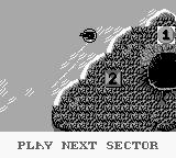 Choplifter II: Rescue Survive Game Boy Flying to the next sector