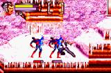 X2: Wolverine's Revenge Game Boy Advance Wolverine smashing fool guys in Rage Mode. The red tone in the stage indicates that the mode is active and functional!