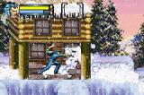 X2: Wolverine's Revenge Game Boy Advance One simple snow wall isn't nothing to Logan's adamantium claws.
