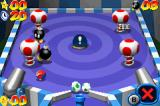 Mario Pinball Land Game Boy Advance Other bonus stage, now with some Bob-ombs to explode.