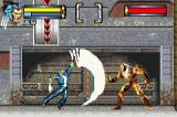 X2: Wolverine's Revenge Game Boy Advance Sabretooth can't escape from Logan's sharp claws!
