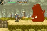 "Metal Slug Advance Game Boy Advance This vertical tank is ""feeling"" all Heavy Machine Gun's power, man!"