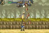Metal Slug Advance Game Boy Advance 3-missile aerial attack: the pilot has a worst target...