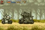 Metal Slug Advance Game Boy Advance Metal Slug (in the left) meets the big Formor.
