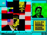 Split Personalities ZX Spectrum Main task is to build up a split picture of the character