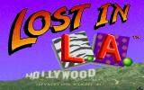 Les Manley in: Lost in L.A. DOS Title screen part two