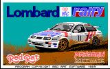 Lombard RAC Rally DOS Title screen