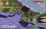 WipEout DOS Twisting track design