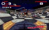 WipEout DOS Starting grid
