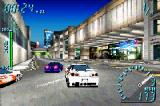 Need for Speed: Underground Game Boy Advance Challenging some dangerous drivers with a powered and customized Nissan Skyline R34 GTR.