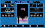 Nyet 3: The Revenge of the Mutant Stones DOS The Nuke powerup destroys the top five rows