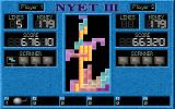 Nyet 3: The Revenge of the Mutant Stones DOS Block in or destroy the snakes (orange) early on or face the consequences