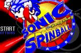 SEGA Smashpack Game Boy Advance Sonic Spinball: Title Screen