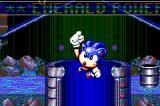 SEGA Smashpack Game Boy Advance Sonic Spinball: He got the Emerald!