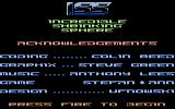 Incredible Shrinking Sphere Commodore 64 Game credits