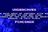 SEGA Smashpack Game Boy Advance Ecco the Dolphin: Level Description Screen