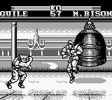 Street Fighter II Game Boy Guile's Sonic Boom: other classic move.