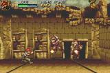 Metal Slug Advance Game Boy Advance Some soldiers try attack you, but your counter-attack is more powerful!