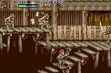 Metal Slug Advance Game Boy Advance The kamikaze warriors are the same, but the environment is totally different!