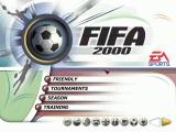 FIFA 2000: Major League Soccer Windows The Menu