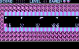 Dangerous Dave in the Deserted Pirate's Hideout! DOS Level 3 (CGA)