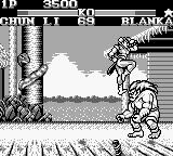 Street Fighter II Game Boy Using the foot with elegance... and a lot of strength!