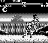 Street Fighter II Game Boy Moves encounter: damage for both fighters!