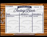 Fantasy Manager: The Computer Game Amiga The Bank