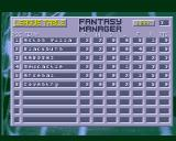 Fantasy Manager: The Computer Game Amiga League Table